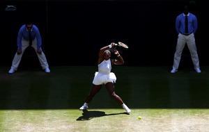 Serena Williams demolishes Elena Vesnina in 49 minutes