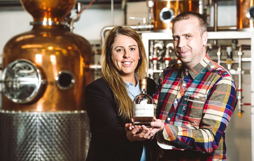 Shortcross Gin scores hat trick at The Gin Masters