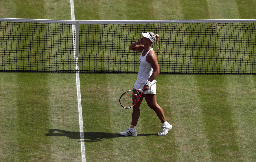 Venus Williams defeated by Angelique Kerber at Wimbledon