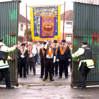 Four main contentious parades all banned for first time