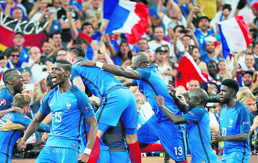 France carry hopes of a nation against Ronaldo's Portugal