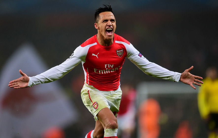 On This Day - July 10, 2014: Chile forward Alexis Sanchez  joins Arsenal from Barcelona