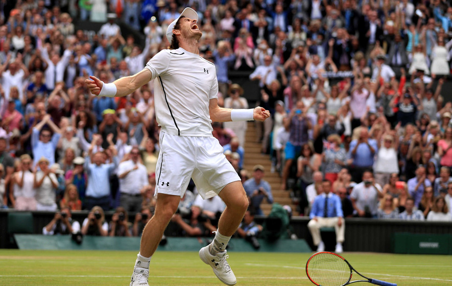 Murray sinks Raonic to clinch second Wimbledon's title