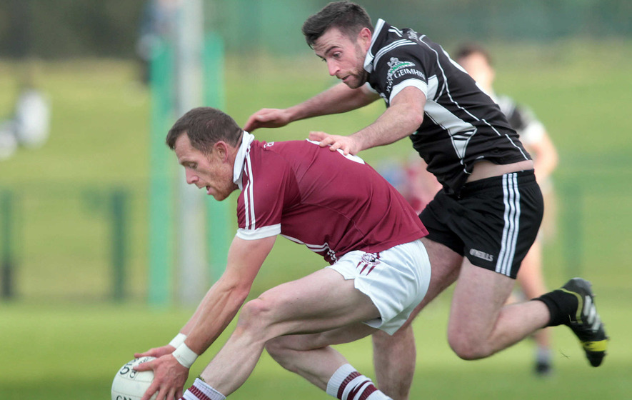 Damian Barton leaves Derry door ajar for Dungiven pair Mark Craig and Kevin Johnston