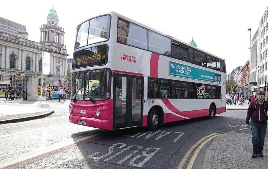 Belfast bus service suspended after 'premeditated' petrol bomb attack