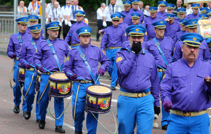 Video shows Twelfth bands breaching Parades Commission determination