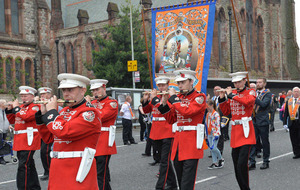 Police praise as Orange Order Twelfth parades pass peacefully