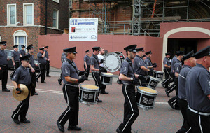 Loyalist bands breach Parades Commission determination at St Patrick's Church