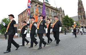 Orange Order leader speaks out against 'relentless attacks'