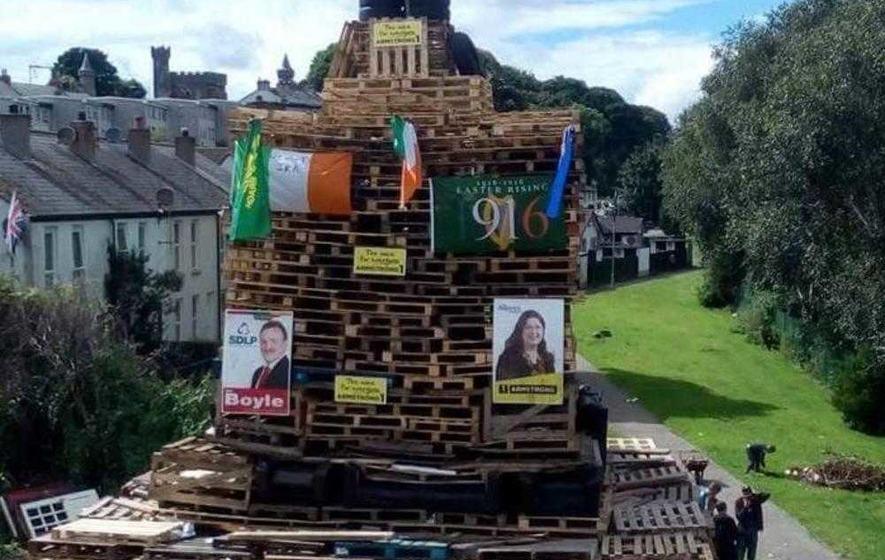 Senior PSNI officer defends response to Twelfth bonfires