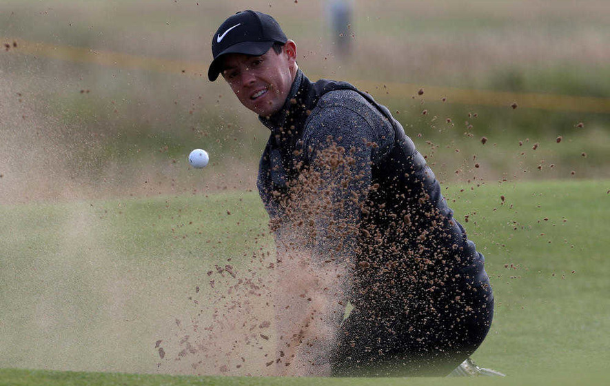 Rory McIlroy begins Open title defence after slipping down Forbes celebrity rich list