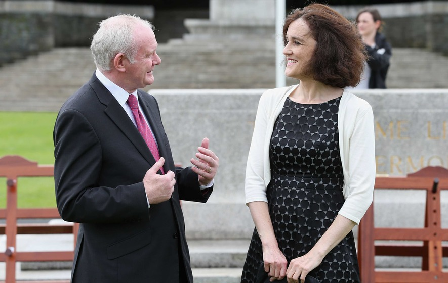 Theresa Villiers says Northern Ireland is 'more stable than it has been for years'