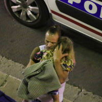 Crowds fled to sea to escape Nice lorry attack