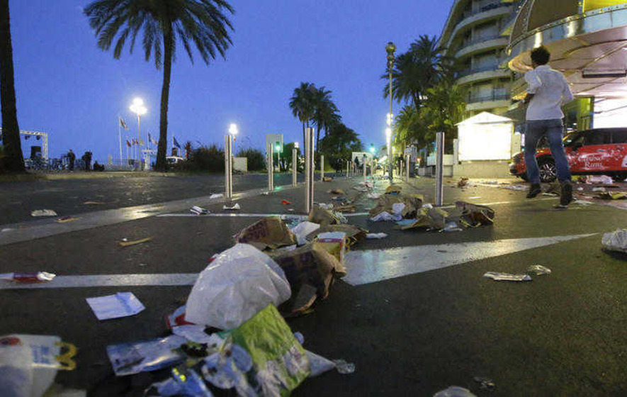 Irish people tell of terrifying moments of attack in Nice