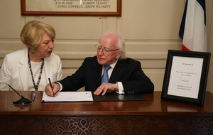 President Higgins in call for stand after Nice terror attack