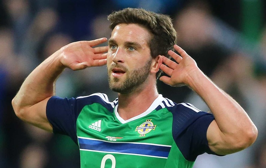 Will Grigg has officially been named in Uefa's top 25 players in Europe