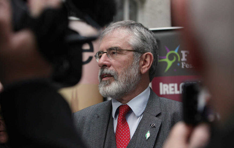 Political leaders come and go but Gerry Adams clings on