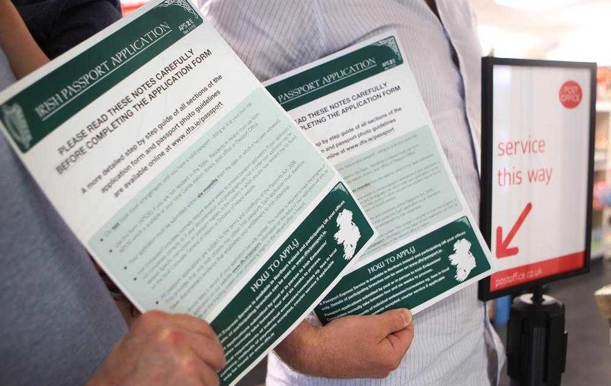 Demand for birth certificates for Irish passport applications soar ...