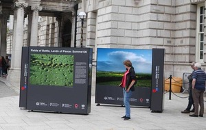 Fields Of Battle, Lands Of Peace exhibit opens at Belfast City Hall