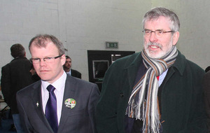 Senior Sinn Féin figures back Gerry Adams's leadership
