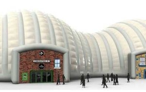 Coronation Street inflatable snowdome 'bound for Belfast'