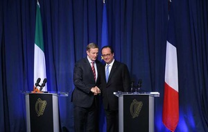 Francois Hollande and Enda Kenny call on UK to trigger Brexit