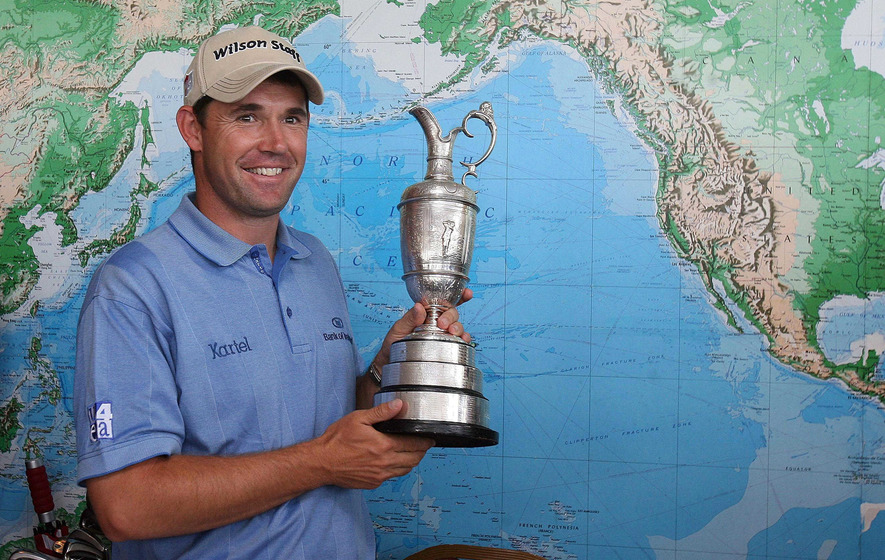 On This Day - July 22 2007: Irish golfer Padraig Harrington wins The Open at Carnoustie