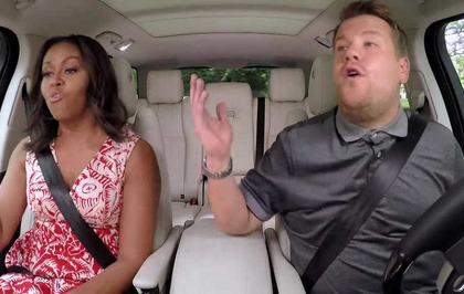 Michelle Obama Proves She S The First Lady Of Pop In Carpool Karaoke