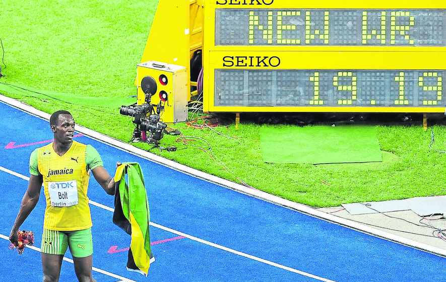 Usain Bolt focused on breaking 200m world record at Rio 2016