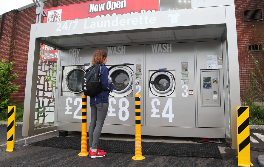 Outdoor launderette service being rolled out across the north