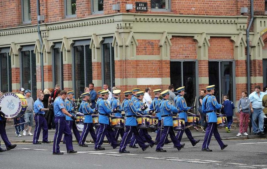 Controversial UDA-linked parade banned from main south Belfast road
