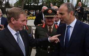 Micheal Martin says Sinn Fein call for border poll 'premature'