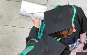 Firms being less strict about degree award when hiring