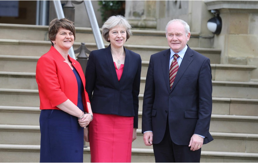 'Brexit must work for Northern Ireland' - Theresa May