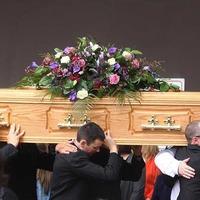 Funeral held in west Belfast for scrambler bike victim Valerie Armstrong