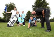 Golfers tee up for inaugural Oscar Knox cup