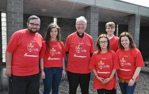 Irish pilgrims celebrate World Youth Day in Poland