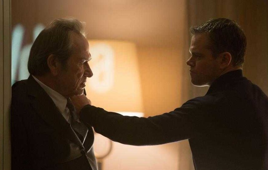 Buckle up for another white-knuckle ride with Jason Bourne