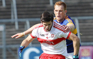 Derry star Karl McKaigue won't be singing the blues for long