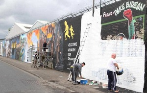 West Belfast mural row erupts over plans for destruction