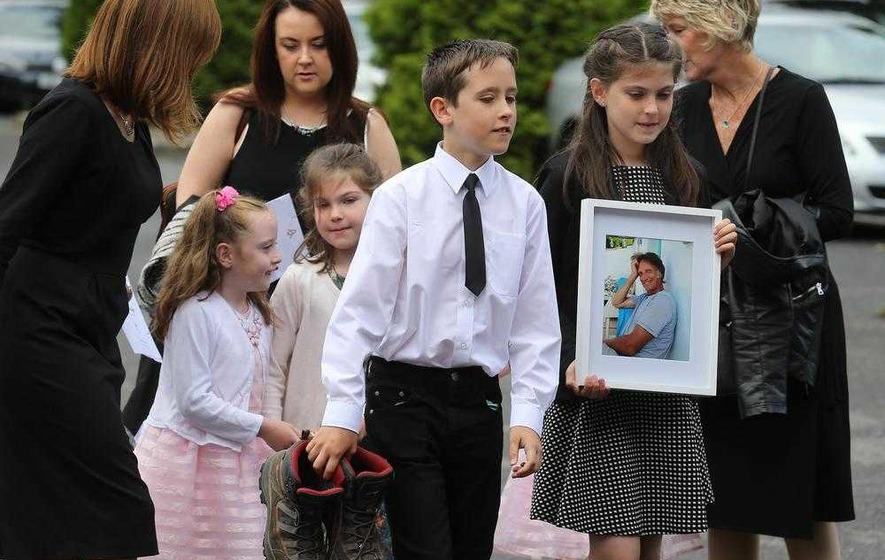 West Belfast Camino pilgrim Seamus McDonagh laid to rest
