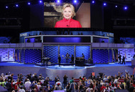 Hillary Clinton wins historic presidential nomination