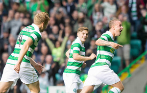 Leigh Griffiths strike leaves Celtic in charge