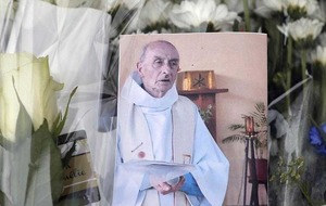 Churches to review security following French priest murder