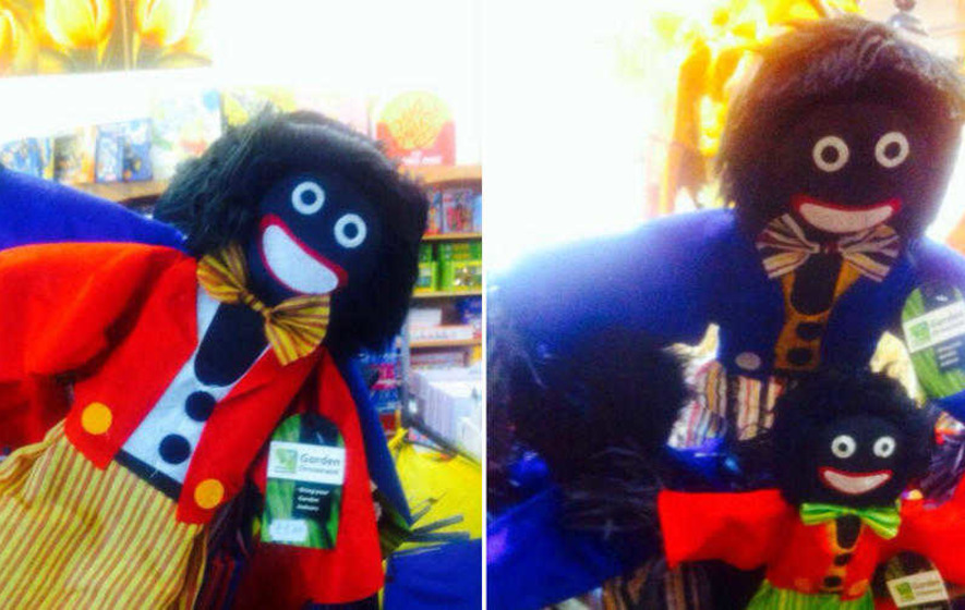 Golliwogs removed from sale at retail outlet near Dungannon