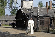 Francis becomes third pope to visit Auschwitz