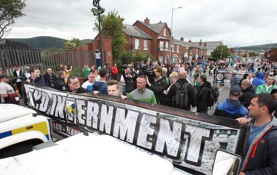 Anti-internment parade banned from Belfast city centre