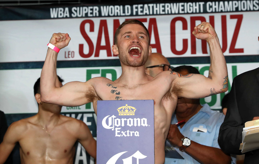 Carl Frampton prepares for the fight of his life in New York