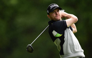 Colm Moriarty slogs it out as Will Besseling leads NI Open