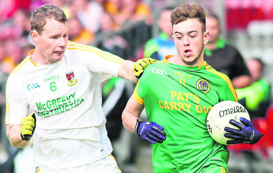 Ryan Brady wins it at the death for Mayobridge